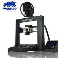 Most Popular and Affordable Prusa Wanhao I3 Printer 3D Printer DIY 3D Kit China with Filament and SD Card as Gift