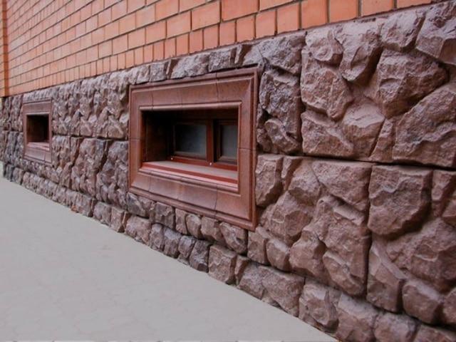 Fabricante de piedra artificial para jardín patio decoración de ...