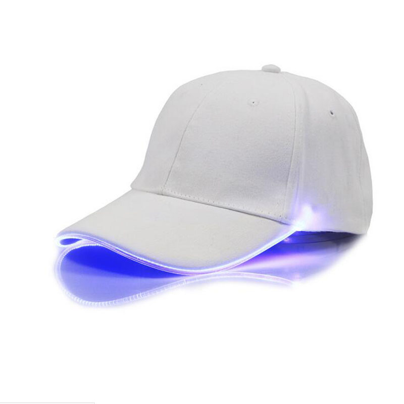 2018 New LED Light Cap Hat T Valor Baseball Cap for Women Mens Fitted Hats  Glow In The Dark Novelty Adjustable Solid Hats 1e82768ff2e8