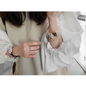 Image 5 - سترة نسائية لربيع 2020 من CHICEVER للنساء بلوزة بأكمام واسعة واسعة واسعة بمقاسات كبيرة بلوزات وبلوزات وبلوزات