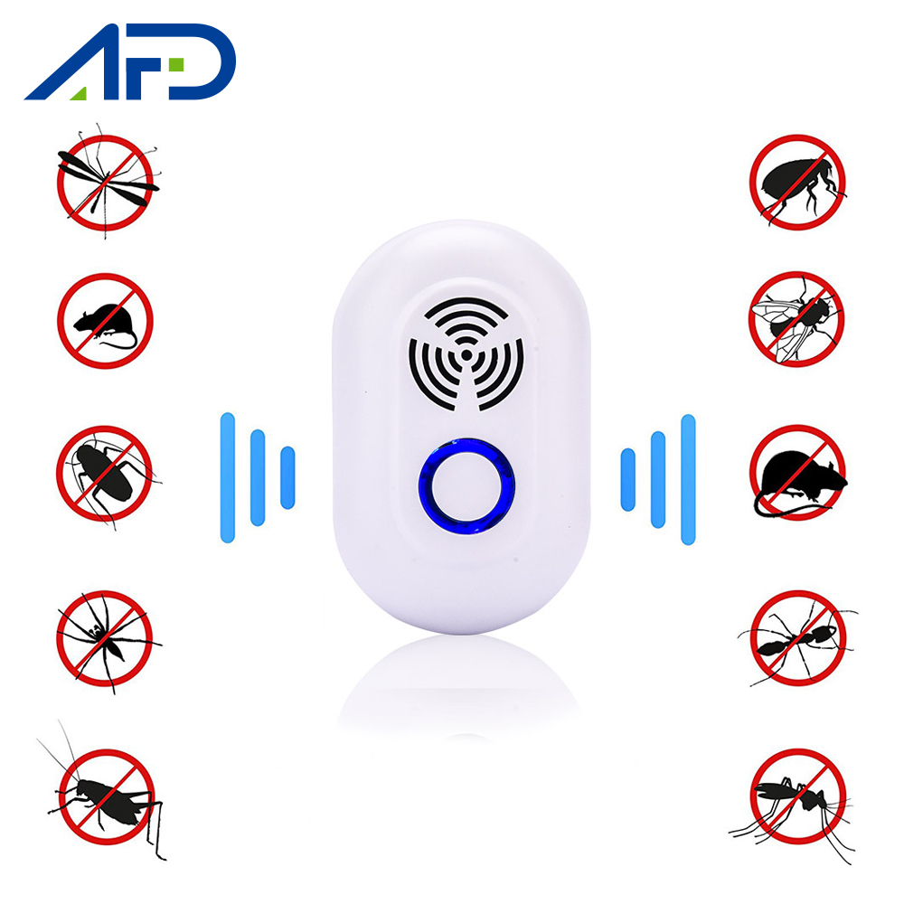 Mosquito Killer Anti Mosquito Electronic Ultrasonic Pest Repeller EU US Plug Mice Repeller Rodent Ultrasound Mouse Rat Killer