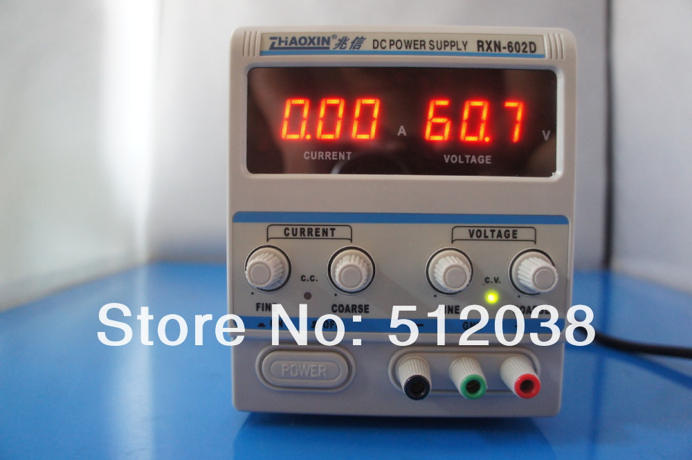 RXN-602D LINEAR DC ADJUSTABLE POWER SUPPLY 60V / 2A womanizer pro