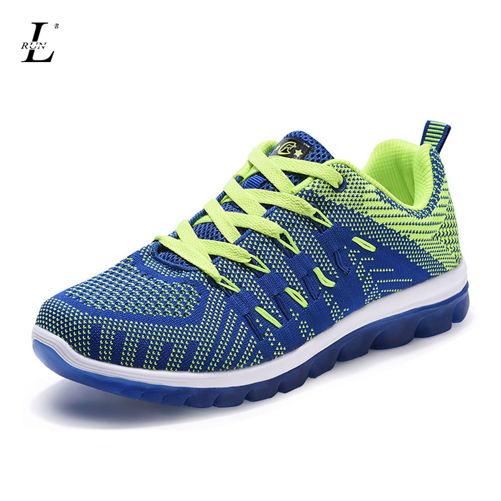ФОТО High Quality Men Shoes Anti-slip Running Shoes for Adults Trainers Breathable Light Soft Male Sneakers Free Shipping Wholesale