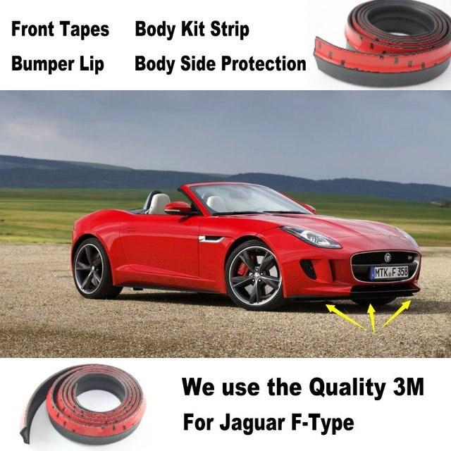 Car Bumper Lips For Jaguar F Type F Type / Spoiler For Car Tuning /