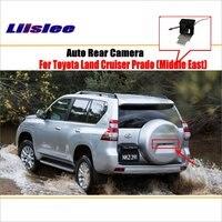 Liislee Rear View Camera Camera For Toyota Land Cruiser Prado 2010~2018 License Plate Light OEM / Night Vision / Backup Parking