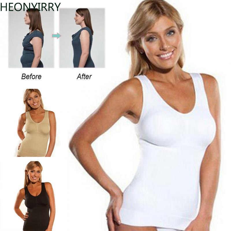 9f24fa52fa Detail Feedback Questions about Hot Body Shaper Slim Up Lift Plus Size Bra  Cami Tank Top Women Body Shaper Removable Shaper Underwear Slimming Vest ...