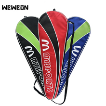 Sport Accessory 3 Colors Large Capacity Portable Unisex Gym Shoulder Storage Badminton Hold 2 Racquets Racket Bag for Badminton