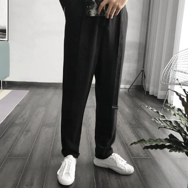 Estilista Hombres Nuevos Más Una De Pantalones Ropa Moda Trajes Pieza Sola Casual Tamaño Negro Delgada 2018 Conjoined dRtw5qR