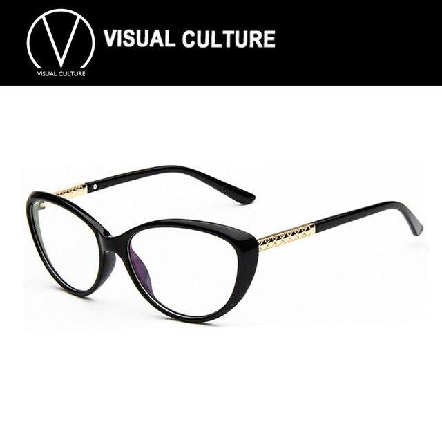 81d2354973a 2015 Brand New Cat Eye Glasses Frame Women Anti Radiation Glasses Computer  Glasses Optical Frame Eyeglasses oculos de grau C001