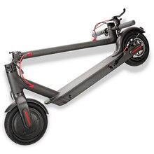Free Shipping 100% Original S8 5.2Ah Battery 8.5 inch Dual Wheels Folding Electric Scooter Skateboard Longboard with EU Plug