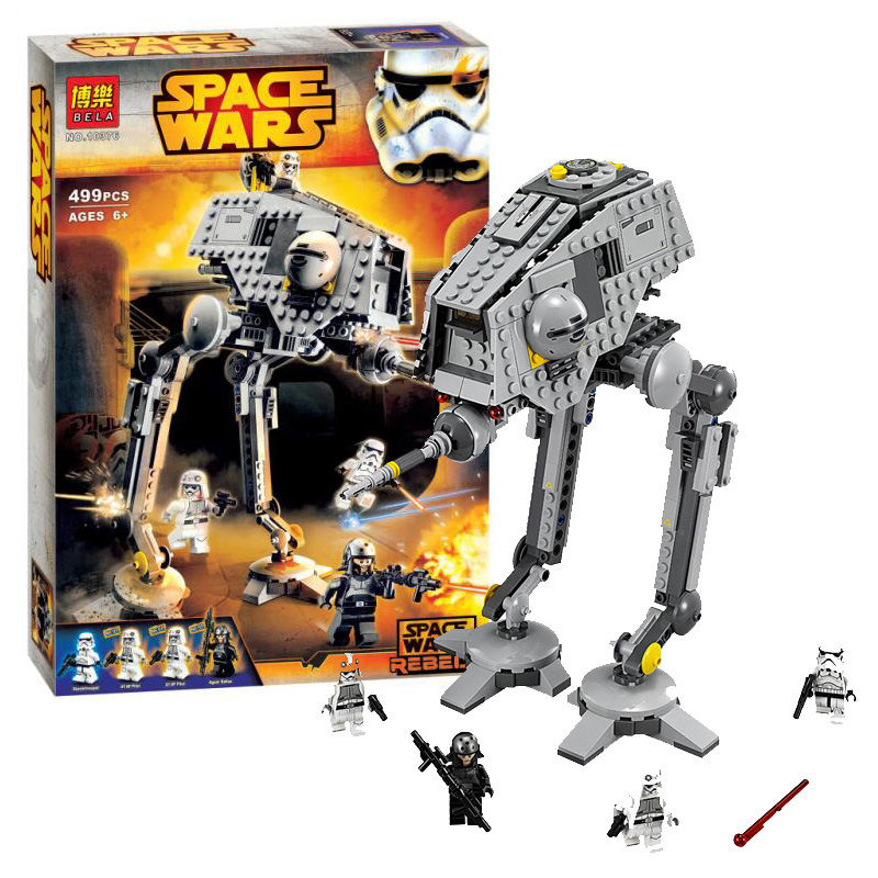 New STAR WARS AT DP 499pcs Spaceship Clone War Building font b Blocks b font Bricks