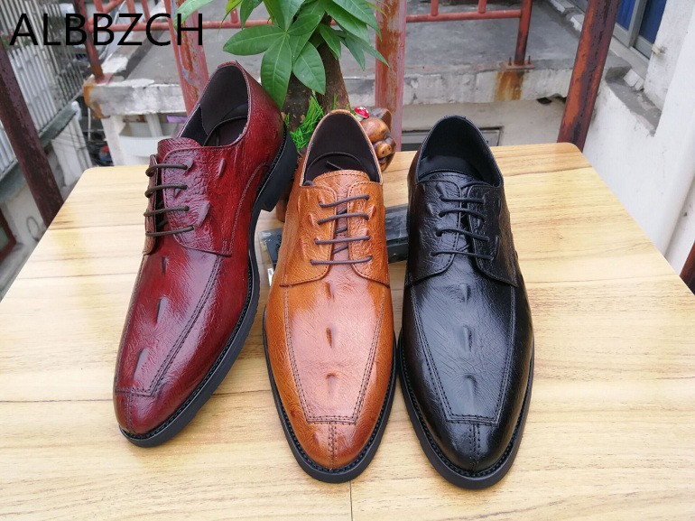 Trend mens business dress shoes crocodile pattern wedding shoes men quality genuine leather lace up high grade office work shoesTrend mens business dress shoes crocodile pattern wedding shoes men quality genuine leather lace up high grade office work shoes
