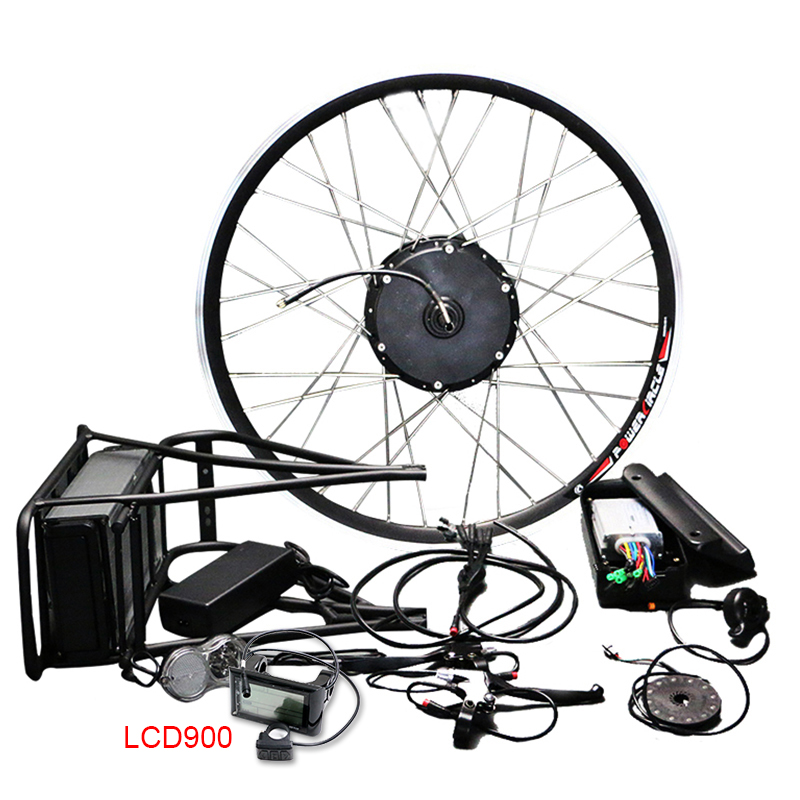 цена на Free Shipping 36V Lithiunm Battery E Bike Conversion Kit 250w/350w/500w Electric Bike Wheel Motor MTB Bike Road Bicks Ebike kit1