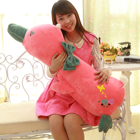 ФОТО big size new creative plush pink duck toy lovely pink duck pillow doll gift about 110cm