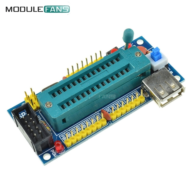 ATmega8 ATmega48 ATMEGA88 Development Board AVR (NO Chip) New Diy Electronic Module Diy Kit Pcb Board USB Interface