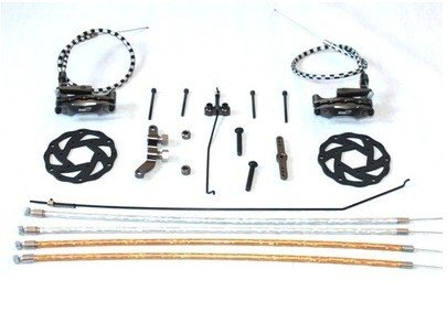 1/5 scale, RC HPI KM Baja 5B 5T 5SC New upgrade Cable Brake system цены