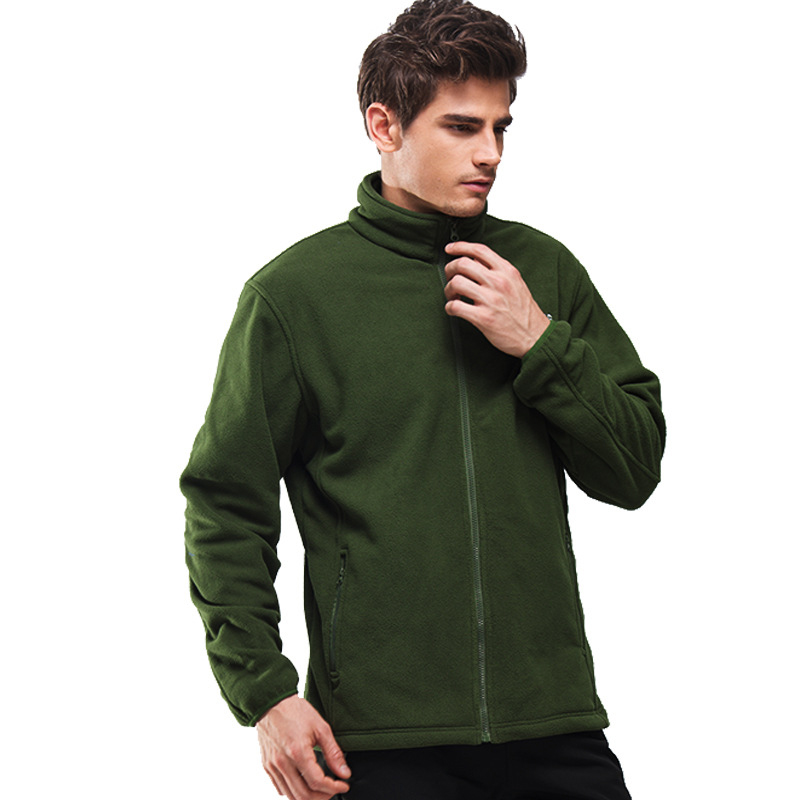 Autumn Winter Outdoor Fleece Clothes Men Thickening Warm Sports Jacket Travel Hiking Camping Trekking Fishing HMA0658 49 In Jackets From