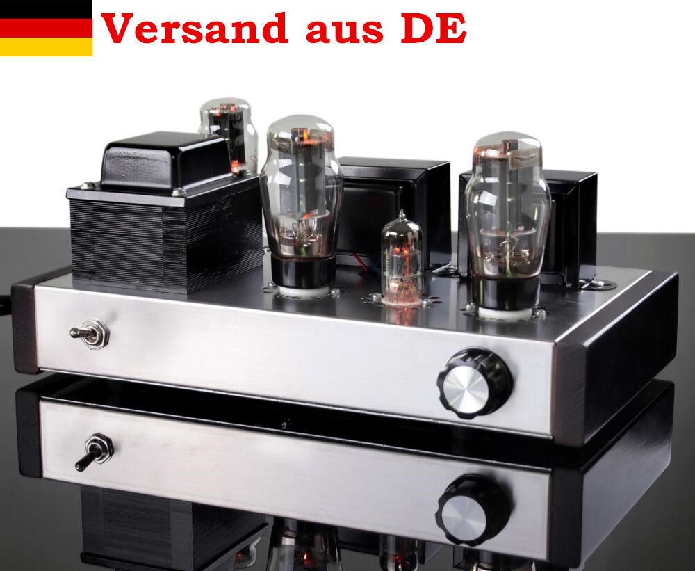 Nobsound 6N8P+6P3P HiFi Single-Ended Pure Class A Valve Tube Amplifier Vacuum Power Amplifier 2.0 Stereo Handmade Amp стоимость
