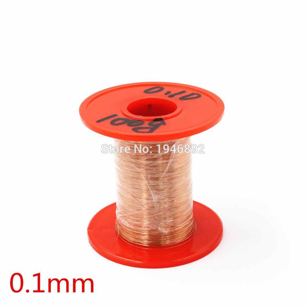0.1mm 100g/pcs QA 1 155 Copper Wire/Red Enameled copper wire ...
