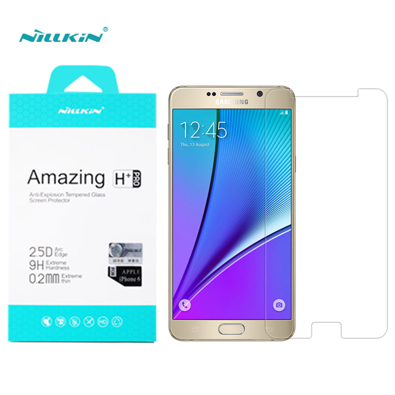 Nillkin Screen Protector For Samsung Galaxy Note 5 Note5 N9200 N920K Amazing H+Pro sFor Samsung Note 5 Tempered Glass