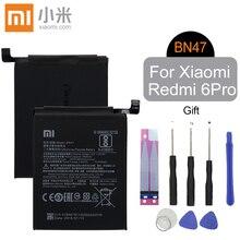 Xiao Mi Original BN47 Replacement Phone Battery High Capacity 3900mAh For Xiaomi Redmi 6 pro A2 Lite Genuine Li-ion Free Tools