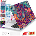 Redlai Colors Crystal Clear Laptop Case For Macbook Pro 13.3 15.4 Retina 2018 Air 13 inch 2016 New For Macbook Pro 13 Touch bar