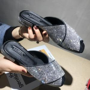 2638cca9aa722d MIJI slippers women beach slides 2018 summer mules shoes