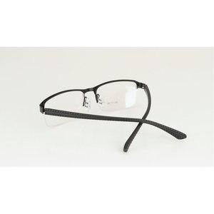 Image 5 - KJDCHD/Neue Qualität Photochrome Myopie Presbyopie männer Gläser Fashion Square halb Rand Klassische Lesebrille für Männer