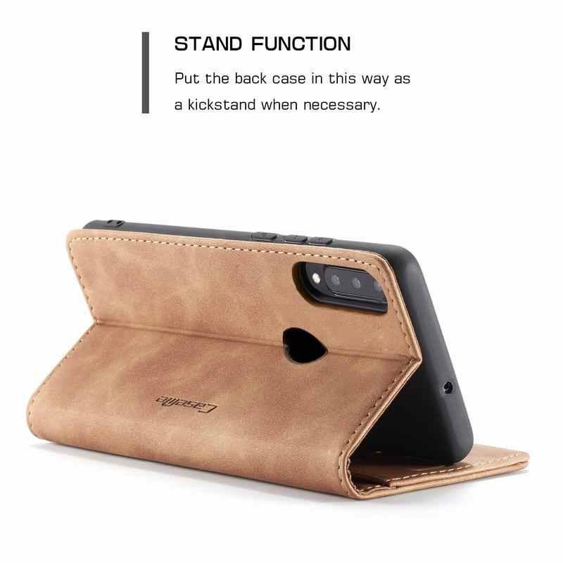 الجلود حافظة لهاتف Huawei P30 لايت برو غطاء حالة المغناطيسي فليب الفاخرة ماتي محفظة الهاتف حقيبة لهواوي P 30 p30lite p30pro كوكه
