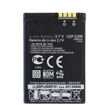 Fesoul High Capacity LGIP-520N Phone Battery For LG VN271 BL40 BL40E GD900 VX5600 GW505 UN270 235C GD900E 1000mAh