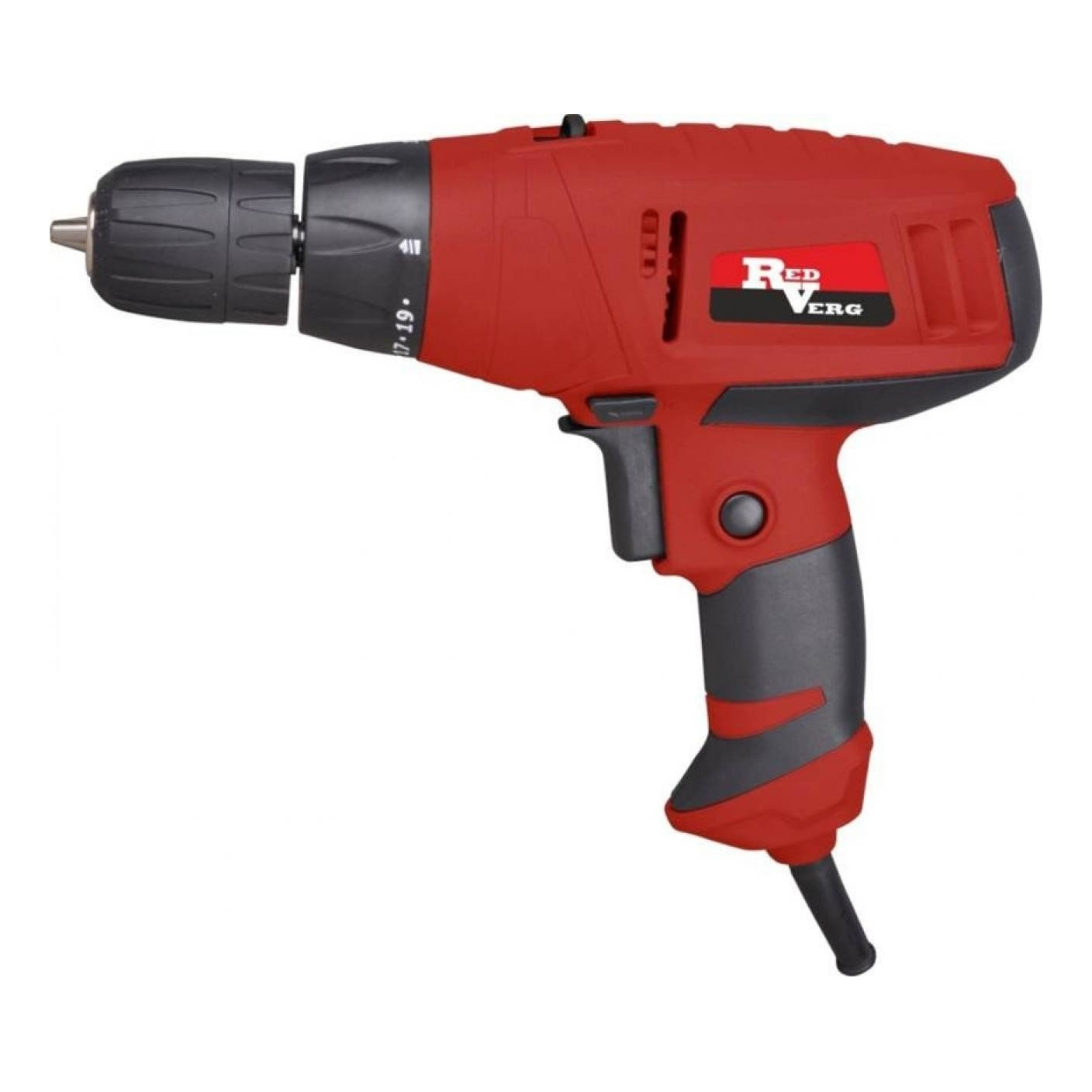 Drill electric screwdriver electric RedVerg RD-SD330/2 (Power 330 W, torque 15Нм, 2 speed) drill screwdrivers redverg rd sd400 2
