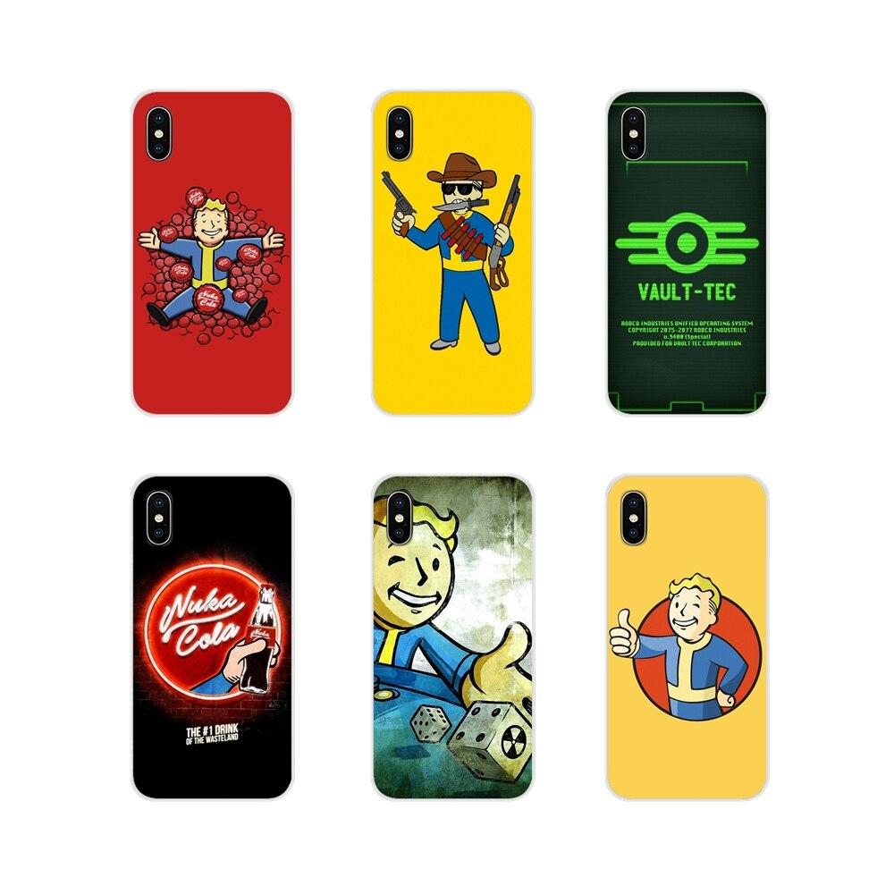 Fallout new vegas pip boy Transparent Weichen Fällen Für Huawei G7 G8 P7 P8 P9 P10 P20 P30 Lite Mini pro P Smart Plus 2017 2018 2019