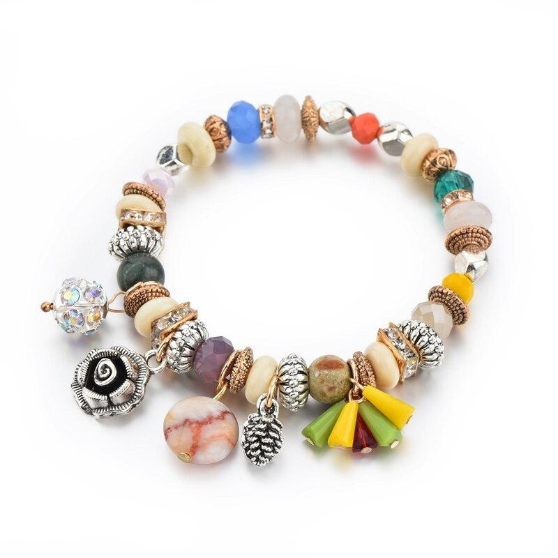Fashion Fit Pandora Bracelet Szelam Multicolor Charm Br