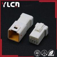 O envio gratuito de 8 Pin feminino e masculino Conector Automotivo Plugue Habitação Para JST conector 08R-JWPF-VSLE-D/08T-JWPF-VSLE-D