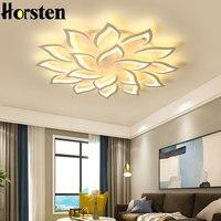 Moderno lustre de teto luz 10 14 18 cabeças flor led luzes do candelabro teto para sala estar quarto iluminação lustre
