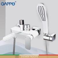GAPPO shower faucet bathroom faucet bath shower mixers basin sink faucet wall mounted rainfall Bathtub taps system