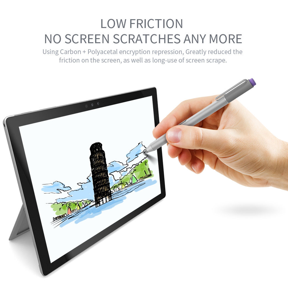 3PCS/Set  Screen Pen Tip Smooth Craft Accessories Stylus Refill Durable Replacement Tool Useful For Microsoft Surface Pro 4