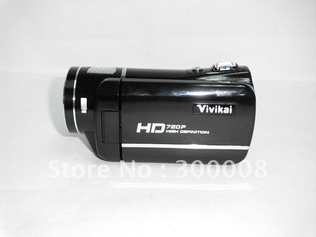 """Free shipping 1080P HD 16MP 8X Digital zoom digital video camera with 3.0"""" LCD screen, remote control"""