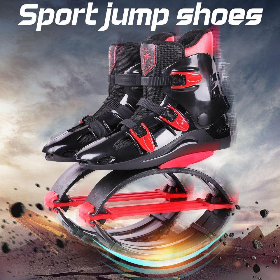 2018 Nouveau Haute Qualité Adultes Tonification Rebond Saut Sport Bottes Kangourou Saut Chaussures Sauts Chaussures Taille 19/20