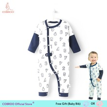 59dc89493226 Newborn Baby Boy Clothes Summer Rompers 0 24 Months Baby Clothes Cute  Number Pattern Boys Shirts