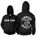 Sons Of Anarchy Jacket Heating And Velvet Thick Suprem Hoody Hoodie Men in Mens Hoodies Fleece Sweatshirts blackhawks jersey