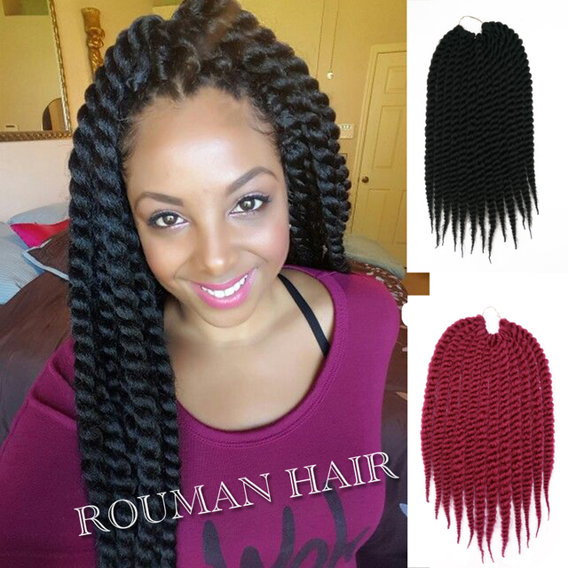 22120ghavana Twists Hair Crochet Braids Afro Kinky Bulk Braiding