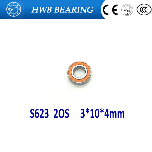 Free shipping S623 2OS 3X10X4mm S623 2RS CB ABEC7 LD 3x10x4 Stainless steel hybrid ceramic ball bearing fishing bearing martin kent vegetation description and data analysis a practical approach isbn 9781119944782