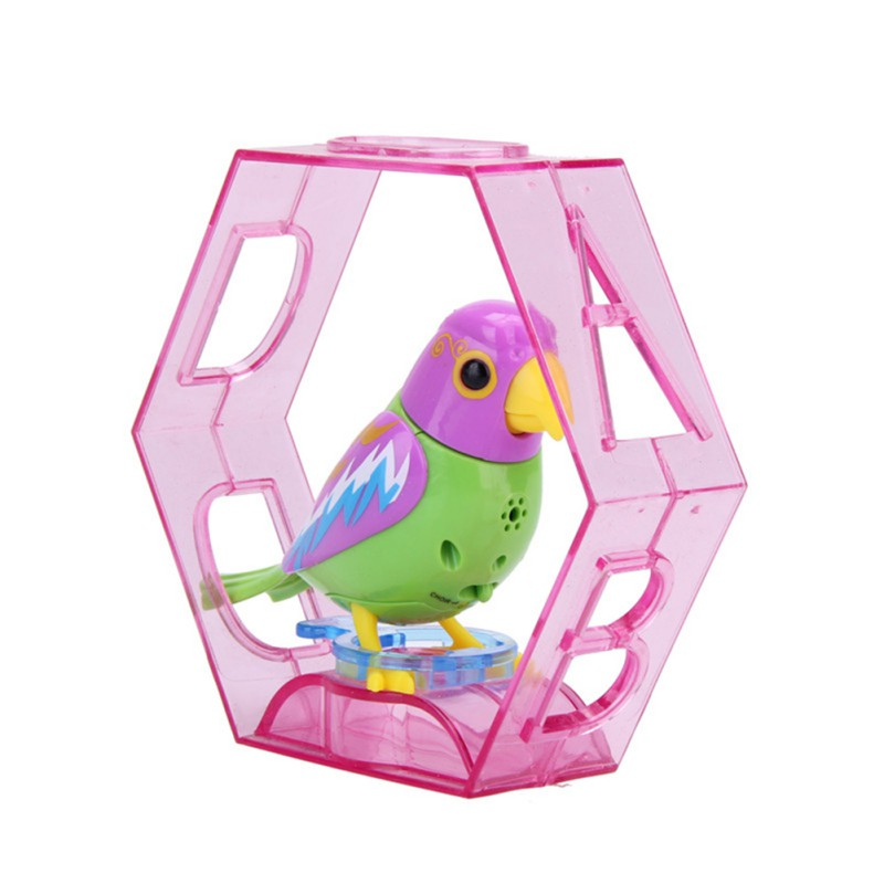 20 Songs Singing Funny Music Bird Electric Toys Sound Birds Pets Sing Solo Intelligent Music Toys For Kids