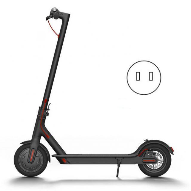 Original Xiaomi Mijia M365 Scooter électrique ultra-léger 12.5 kg avec APP Scooter pliant intelligent BMS Double frein système 25 km/h