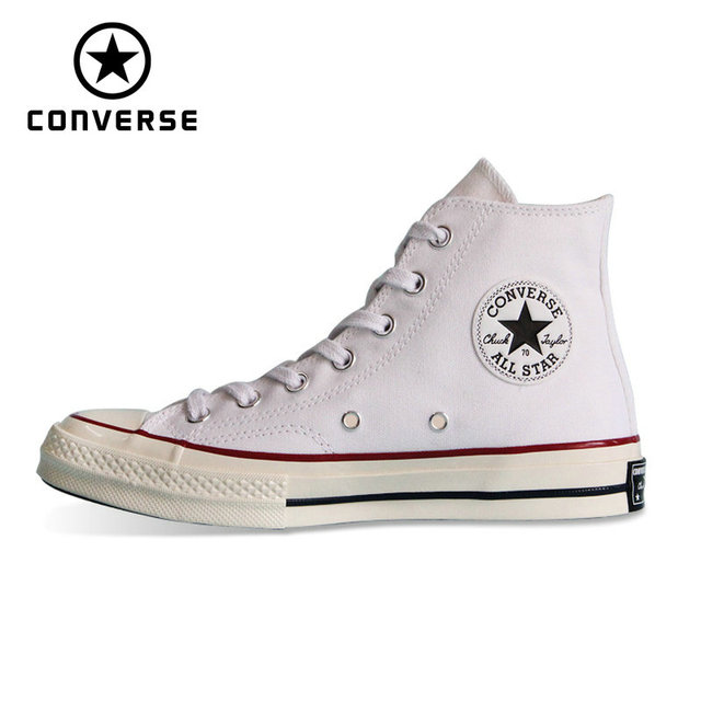 474657c042cb new 1970s Original Converse all star shoes men s women s sneakers canvas  shoes high classic Skateboarding Shoes 162056C-in Skateboarding from Sports  ...