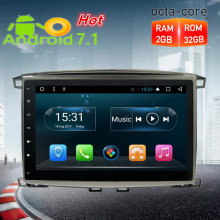 10.1″ Octa Core Android7.1.2 Car Radio GPS Navigation Multimedia Stereo For Toyota Land Cruiser100/LC100 Lexus LX470 1997-2004