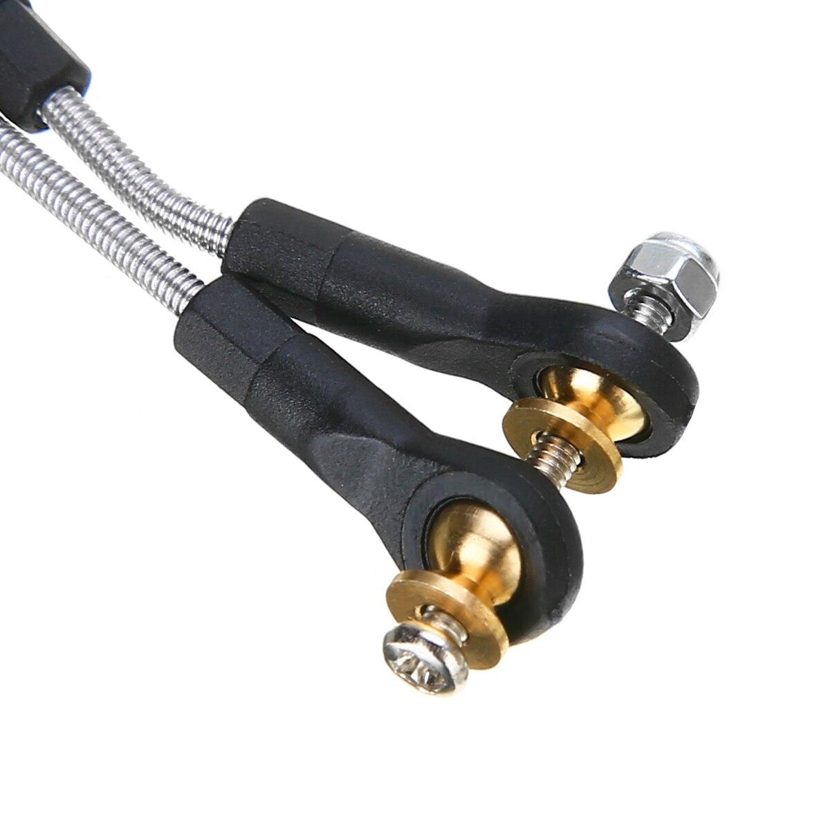 1 Set Metal Steering Pull Rod Tool Parts Car Steering Pull Rod Upgrade Part For WPL B1 B14 B24 B24 C14 C24 1/16 Mayitr