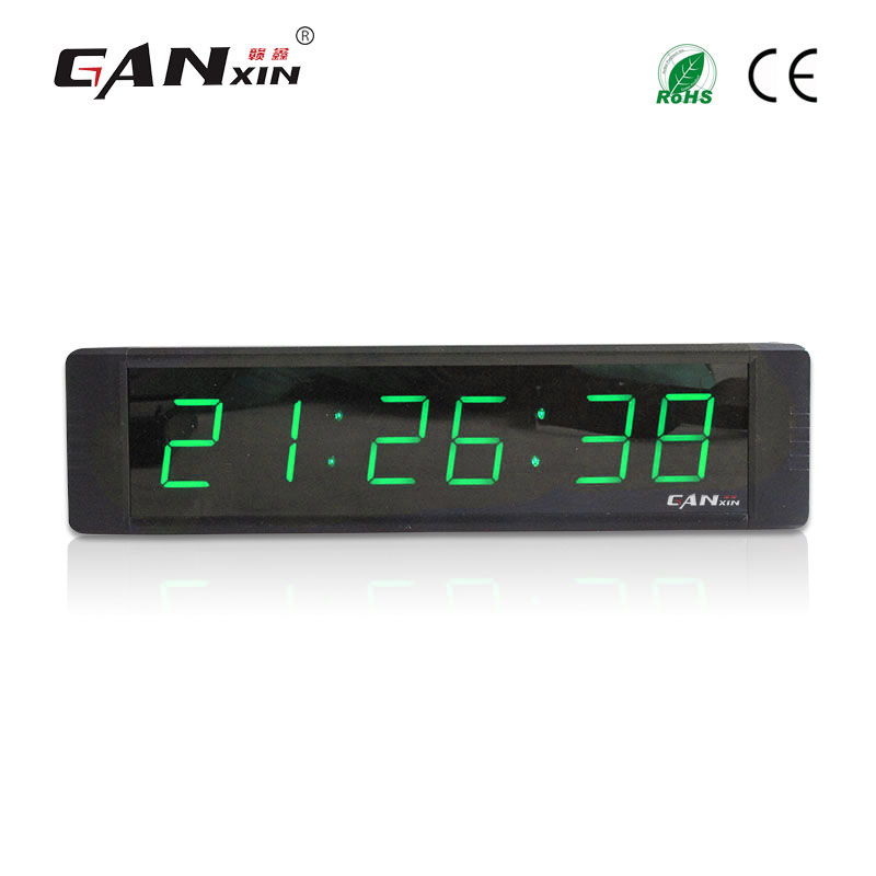 [Ganxin] 1 inch Led electronic wall clock digital portable desk - Home Decor