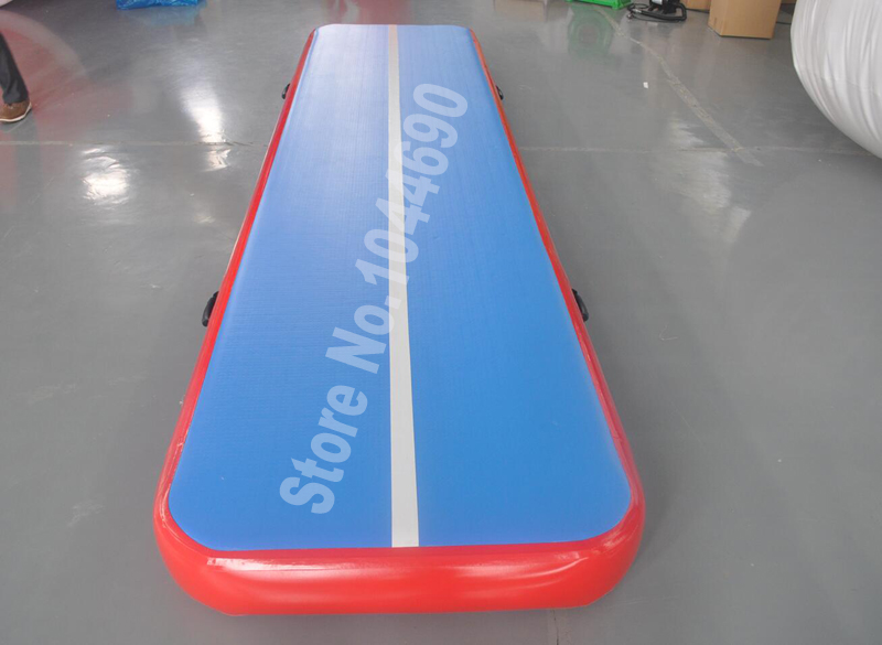 free shipping good quality customize design inflatable gymnastics air track tumbling air track for sell (4*1m) hot sale inflatable gym air track gymnastics equipment tumbling mats with free pump and free shipping 10m x 1 5m x 0 1m